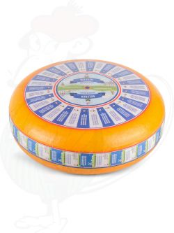 Belegen Goudse Kaas | Extra Kwaliteit | Hele kaas 12 kilo