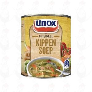 Unox Soep in Blik Stevige Kippensoep 1 Portie 300ml
