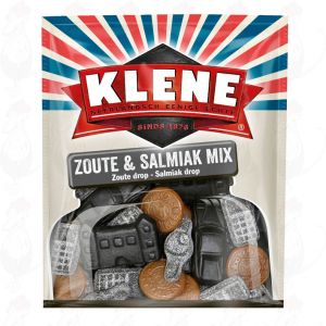 Klene Zoute & Salmiak Mix 300g