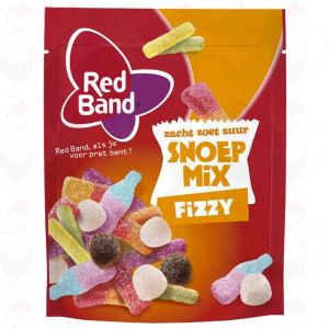Red Band Snoepmix Fizzy 260g