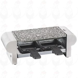 Steengrill en Gourmetset Hot Stone Duo Wit