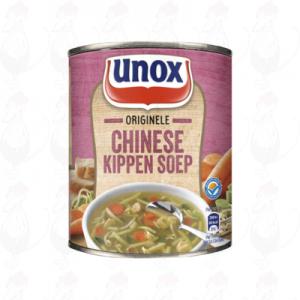 Unox Soep in Blik Stevige Chinese Kippensoep 3 Porties 800ml