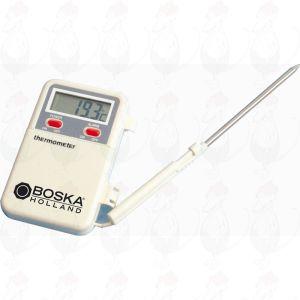 Digitale thermometer met temperatuuralarm, snoer 600 mm
