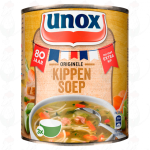 Unox Soep in Blik Stevige Kippensoep 3 Porties 800ml
