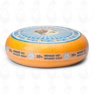 30+ Magere Kaas Belegen | Extra Kwaliteit | Hele kaas 11,5 kilo
