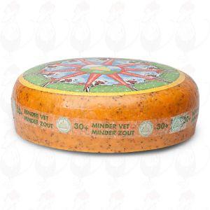 30+ Magere Kruidenkaas | Extra Kwaliteit | Hele kaas 10 kilo