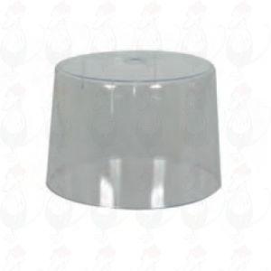 Stolp voor kaaskruller met metalen onderplaat en kruller met kaassnijder