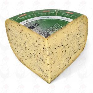 Kruidenkaas basilicum-knoflook Goudse Biologisch dynamische kaas - Demeter