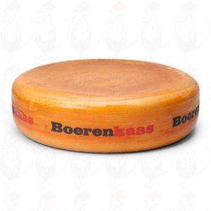 Boerenkaas Brokkel - Stolwijkse Kaas | Extra Kwaliteit | Hele kaas 12,5 kilo