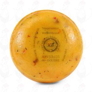 Boerenpond Kaasje Tomaat olijven | Extra Kwaliteit | 400 gram
