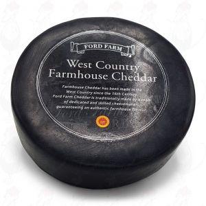 Cheddar Farmhouse Black | Hele kaas 900 gram