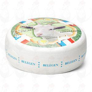Geitenkaas Belegen - Extra Belegen | Extra Kwaliteit | Hele kaas 10,5 kilo