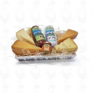 Geschenkkrat met kaas