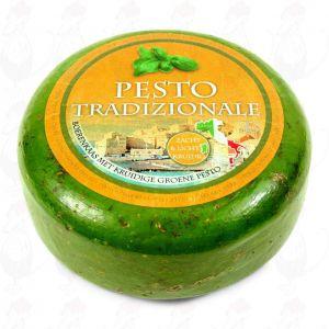 Pestokaas Groen | Extra Kwaliteit | Hele kaas 5,4 kilo