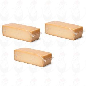 3 X Hotelblok Oude Kaas | Extra Kwaliteit | 3,5 Kilo