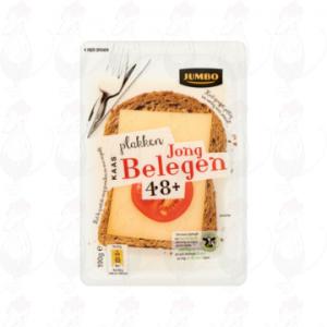 Gesneden kaas  Goudse Kaas 48+ Jong Belegen | 190 gram in plakken