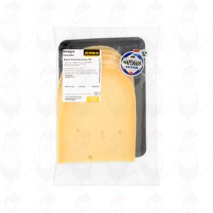 Gesneden kaas  Wapenaer Kaas Belegen 48+ | 200 gram in plakken