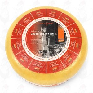 Jong Belegen Goudse Biologisch dynamische kaas - Demeter | Hele kaas 5 kilo