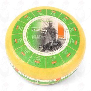 Jonge Goudse Biologisch dynamische kaas - Demeter | Hele kaas 12 kilo