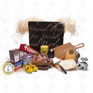 Geschenkpakket met Kaas- black