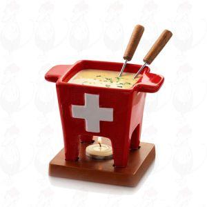 Boska Tapas kaasfondue Swiss - Kaasfondueset