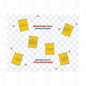 Kaaspapier Hollands | Pack 10 kilo | 32 X 40 CM | 2000 vellen
