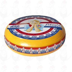Frau Antje Pikantje - Goudse Kaas | Extra Kwaliteit | Hele kaas 12 kilo