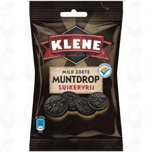Klene Mild Zoete Muntdrop Suikervrij | 100 gram