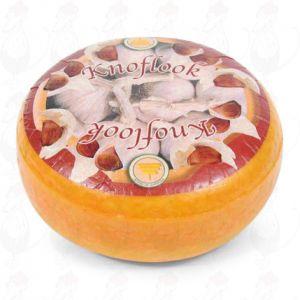 Knoflookkaas - Kruidenkaas | Extra Kwaliteit | Hele kaas 4,5 kilo
