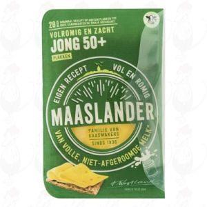Gesneden kaas Maaslander kaas Jong 50+ | 175 gram in plakken
