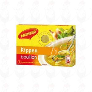Maggi Kippen bouillon 8 tabletten - 80 gram