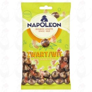 Napoleon Zwart/Wit Echte Salmiak Kogels