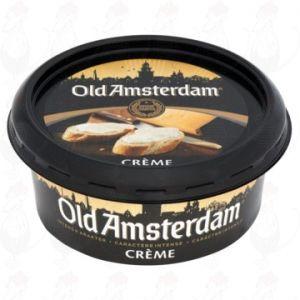 Smeerkaas Old Amsterdam Crème Kaas 48+ 125g