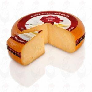 Overjarig Noord-Hollandse Gouda kaas met het Rode Zegel