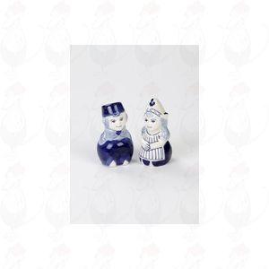 Delft Blauwe peper en zoutstel Boer en Boerin