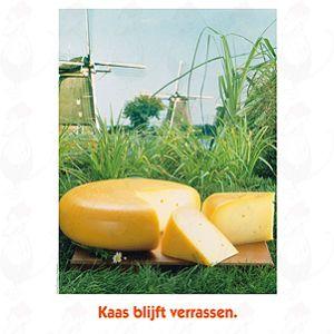 Poster Kaas Blijft Verrassen - A2