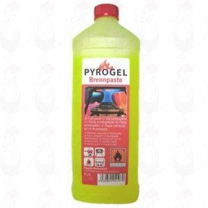 Pyrogel brandpasta - brandgel Fles 1 liter