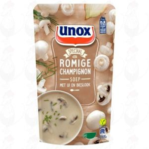 Unox Soep Hollandse Champignonsoep 570ml