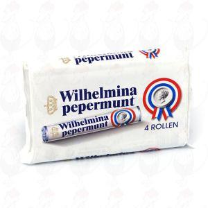 4 rollen Wilhelmina Pepermunt