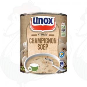 Unox Soep in Blik Stevige Champignonsoep 1 Portie 300ml