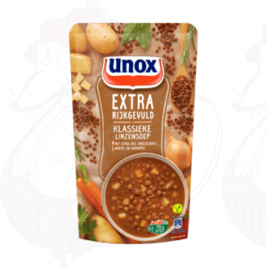 Unox Soep Extra gevuld Linzensoep 570ml