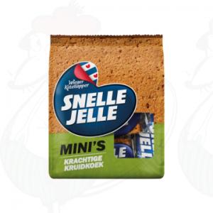 Snelle Jelle Mini's Krachtige Kruidkoek 180g