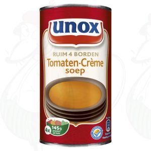 Unox Soep in Blik Tomatensoep Crème 4 Porties 515ml