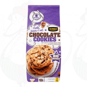 Huismerk Chocolate Cookies Melk en Puur 12 Stuks 225g