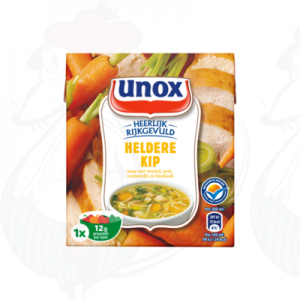 Unox Soep in Pak Kippensoep 1 Portie 300ml