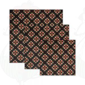 3-Pak | Kaasdoek Olijven - Bijenwasdoek - Dooek | 20x20 * 25x25 * 30x30 cm