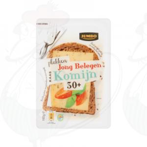 Huismerk Jong Belegen Kaas Komijn 30+ Plakken 190g