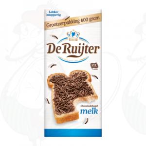 De Ruijter Chocoladehagel Melk Grootverpakking 600g