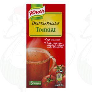 Knorr Soep Drinkbouillon Tomaat 5 Stuks
