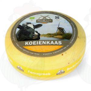 Biologische Fenegriekkaas | Extra Kwaliteit | Hele kaas 5,4 kilo